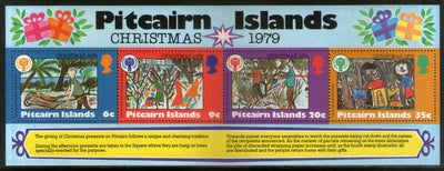 Pitcairn Islands 1979 Christmas Children's Painting Sc 191a M/s MNH # 9364