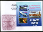 Micronesia 2007 Ludwig Dürr Zeppelin Air Ship Aviation Sc 725 M/s FDC # 9366