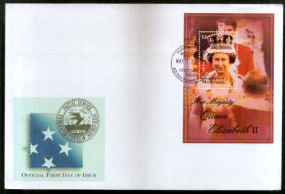 Micronesia 2003 Queen Elizabeth II Royal Family Sc 542 M/s FDC # 9394