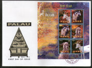 Palau 2003 Chinese New Year of Ram Animal Sc 712 M/s FDC # 9411