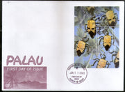 Palau 2003 Insect Wildlife Animal Fauna Sc 720 M/s FDC # 9475