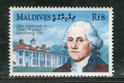 Maldives 1990 George Washington Mount Vernon Sc 1377 MNH # 966
