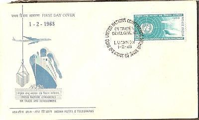 India 1968 Trade & Development Phila-459 FDC