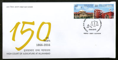 India 2016 Allahabad High Court Justice Law & Order Architecture FDC # F3043