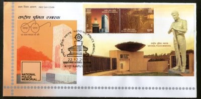 India 2018 National Police Memorial Museum Architecture M/s on FDC
