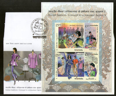 India 2019 Indian Fashion Concept to Consumer Costumes Culture Textile M/s FDC