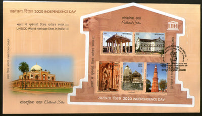 India 2020 UNESCO World Heritage Site III Cultural Architecture M/s FDC