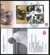 Malta 2019 Mahatma Gandhi of India 150th Birth Anniversary M/s FDC + Folder # 138