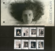 Jersey 2020 Claude Cahun Art Photographer Writer 6v MNH in Presentation Pack # 218