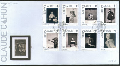 Jersey 2020 Claude Cahun Art Photographer Writer 6v FDC # 228