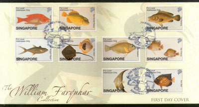 Singapore 2002 Fishes Marine Life Animals Sc 1005 FDC # F229