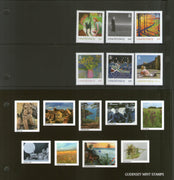 Guernsey 2020 SEPAC Art Work Collection Painting 6v Presentation Pack MNH # 245