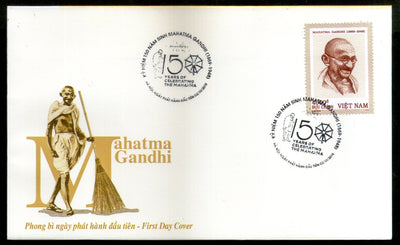 Vietnam 2019 Mahatma Gandhi of India 150th Birth Anniversary 1v FDC # F249