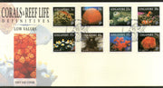 Singapore 1994 Corals Reef Cowries Marine Life Animals Sc 674-81 FDC # 252