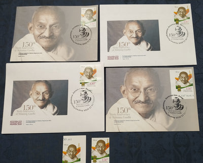 Kyrgyzstan 2019 Mahatma Gandhi of India 150th Birth Anniversary Stamp + FDC + Max Card Combo Offer