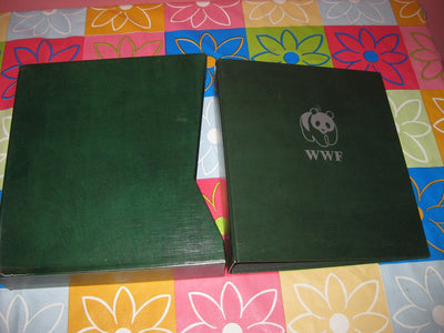 WWF 4 Ring Hard Bound Imported Binder for a refill with Slipcase