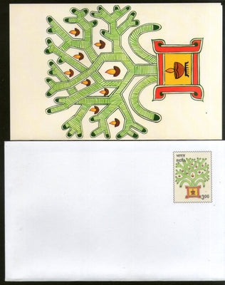 India 2000 300p Happy Diwali 0025S00/MSP Greeting Card MINT Cat. No. PIGE-23 # 23 - Phil India Stamps