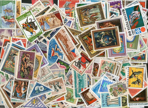 Hungary 142 Diff. Used Stamps on Painting Animals Sports Olympics Birds Fish Flora Fauna Wildlife - Phil India Stamps