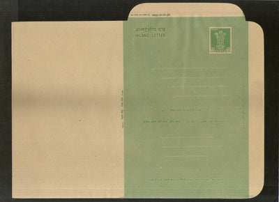 India 1960 10p Ashokan Inland Letter Card Jain ALS-38 MINT # 851