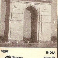 India 1966 Pacific Area Travel Association Phila-424 Cancelled Folder