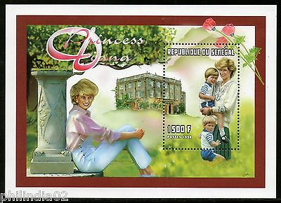 Senegal 1997 Princess Diana Commemoration Sc 1306 M/s MNH # 7634