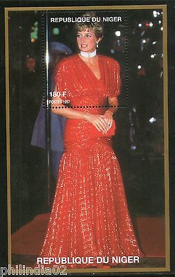 Niger 1997 Princess Lady Diana in Fancy Dress Royal Family Women M/s MNH # 13126