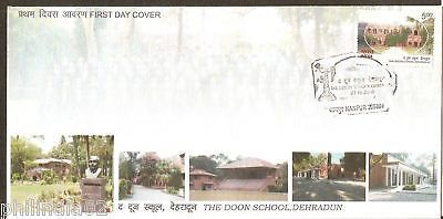 India 2010 The Doon School, Dehradun Phila-2640 FDC