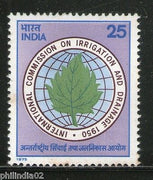 India 1975 Irrigation & Drainage Phila-649 MNH