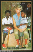 Niger 1997 Princess Lady Diana Helping African Child Royal Women M/s MNH # 13439