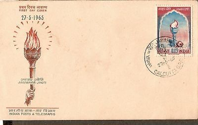 India 1965 Jawahar Jyoti Phila-417 FDC
