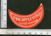 India Vintage Trade Label Pine Apple Syrup Health Drink # LBL117 - Phil India Stamps