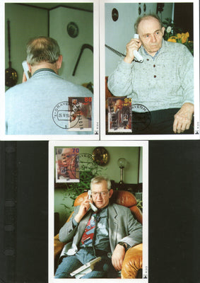 Netherlands 1994 Senior Citizens Telephone Sc B680-82 Set of 3 Max Cards # 3 - Phil India Stamps
