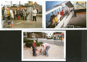 Netherlands 1995 Senior Citizens Postcard Zoo Sc B686-88 Set of 3 Max Cards # 44 - Phil India Stamps
