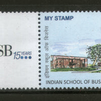 India 2016 Indian School of Business Education ISB Architecture My stamp MNH # M58 - Phil India Stamps