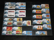 India 2011 Year Pack of 29 Diff My Stamp Comp Set Aeroplane Animal Locomotive Astrological Sign MNH - Phil India Stamps