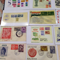 India 2016 Set of 32 Post Cards on Mahatma Gandhi & Others Historical FDCs & Covers Mint
