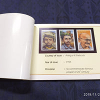India 2015 Mahatma Through Stamps Books on Mahatma Gandhi