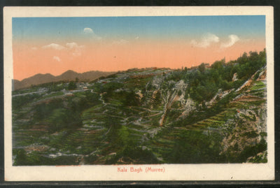 India Kala Bagh Murree now in Pakistan View / Picture Post Card Mint # 39