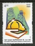 India 2002 100 Years of Directorate General of  Mines Safety Phila-1889 MNH
