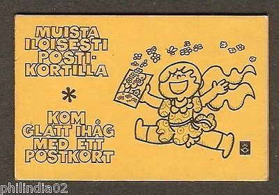 Finland 1978 State Coat of Arms 1.00 MK Booklet MNH