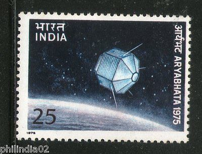 India 1975 Aryabhatta Satelite Phila-637 MNH