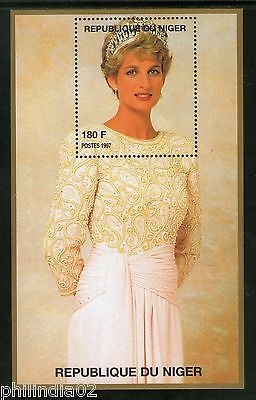 Niger 1997 Princess Lady Diana in Fancy Dress Royal Family Women M/s MNH # 12545