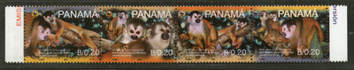 Panama 2007 WWF Red-backed Squirrel Monkey Wildlife Animal Fauna Sc 931 MNH # 404