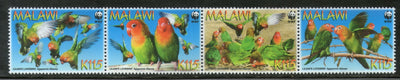 Malawi 2009 WWF Lilian's Lovebird Birds Wildlife Animal Sc 751 MNH # 440