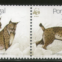 Portugal 1988 WWF Iberian Lynx Wild Life Animal Fauna 4v Sc 1716-19 MNH # 060 - Phil India Stamps