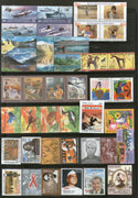 India 2006 Year Pack 65 Stamps Birds Dance Himalayan Lakes Military Joints Issue Health Music MNH