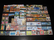 India 2007 Year Pack 72 Stamps Cricket AirForce Film Gandhi Bridge Buddha MNH