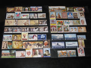 India 2011 Year pack of 61 Stamps Cinema Elephant Tiger Tagore Ship Health MNH