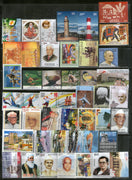 India 2012 Year Pack of 46 Stamps on Olympic Aeroplane Lighthouse Painting Aviation Wildlife Bird Joints Issue MNH