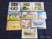 India 2013 Year Pack of 10 M/s on Mahatma Gandhi Railway Cricket Flower Temple MNH